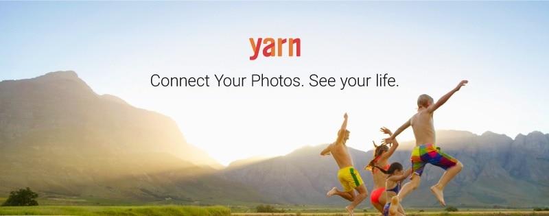 Yarn maps personal photos automatically