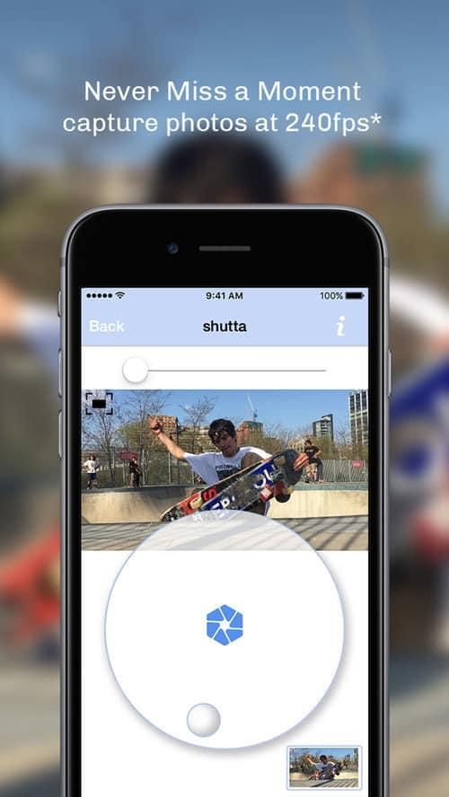 Shutta's iconic scrolling wheel