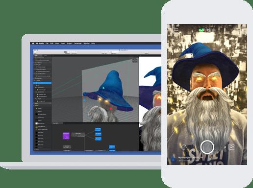 The Facebook AR studio